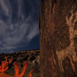 Petroglyphs by Night