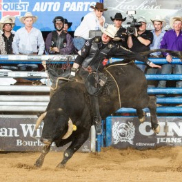 Las Vegas: It's man versus beast at April 19 bull-riding championships – latimes.com