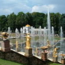 Peterhof – Peter the Great's Summer Palace Near Saint Petersburg, Russia