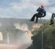 Iguassu Falls Rappel Adventure from Foz do Igua?u